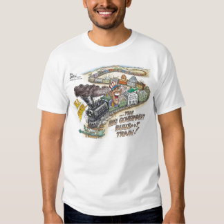 Big Government Bull*hit  Train T-Shirt