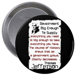 Big Government Button