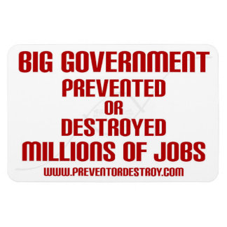 Big Government Prevent or Destroy Millions Magnet