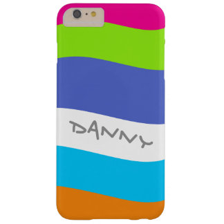 Big Graphic Multi-color Waves Stripes Phone Case