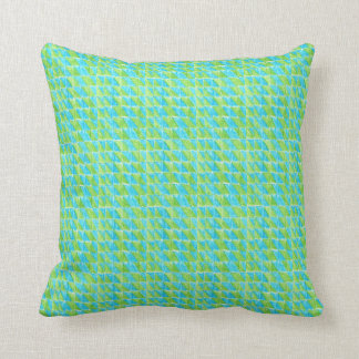 Big Green and Blue Throw Pillows