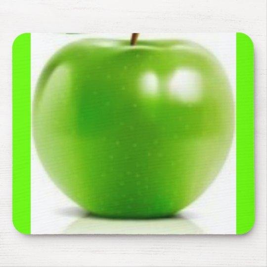big-green-apple mouse pad
