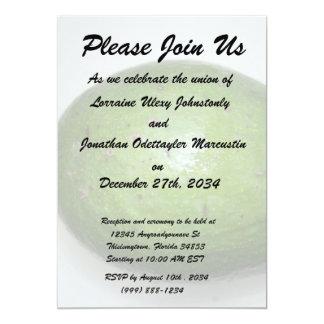 big green avacado fruit picture card