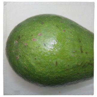 big green avacado fruit picture cloth napkin