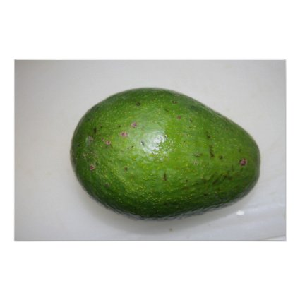 big green avacado fruit picture poster