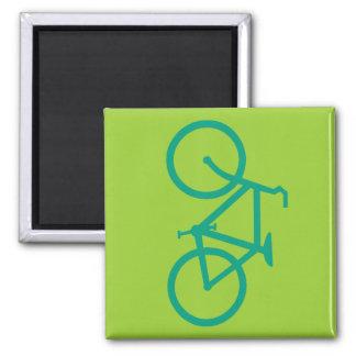 Big Green Bicycle Magnet