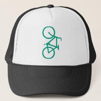 Big Green Bicycle Trucker Hat