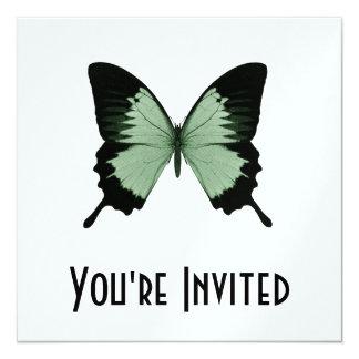Big Green & Black Butterfly Card