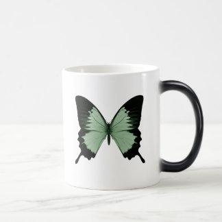 Big Green & Black Butterfly Magic Mug
