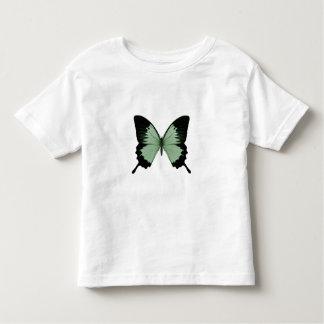 Big Green & Black Butterfly Toddler T-shirt