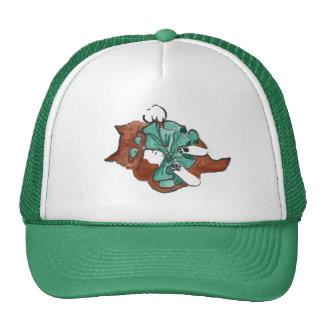 Big Green Bow is Larger than Kitten Trucker Hat