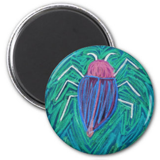 Big green Bug v Magnet