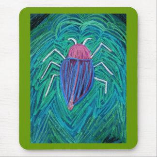 Big green Bug v Mouse Pad