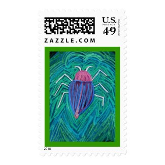Big green Bug v Postage