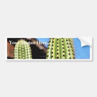 Big Green Cactus Bumper Sticker