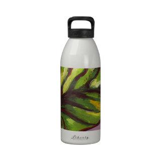 big green leaf drinking bottle