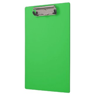 Big Green Orb Spider Clipboards
