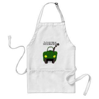 Big Green Tractor Adult Apron