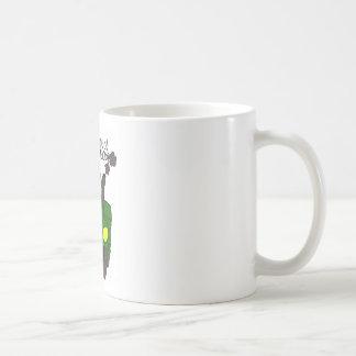 Big Green Tractor Coffee Mug