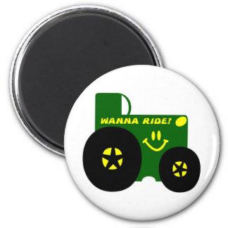 BIG GREEN TRACTOR MAGNET