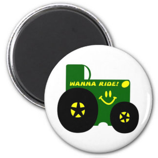 BIG GREEN TRACTOR MAGNET