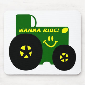 BIG GREEN TRACTOR MOUSE PAD