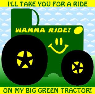 Green Tractors Posters Photo Prints Zazzle