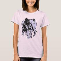 Big Grey Elephant T-Shirt