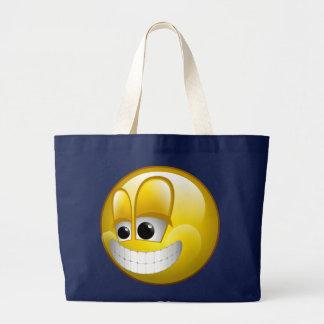 BIG GRIN SMILEY FACE BAG