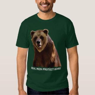 Big Grizzly Bear Wildlife Protection Art Gift Tee Shirt