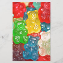 Big gummy bears pattern for big & small,candy,fun