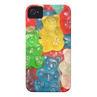 Big gummy bears pattern for big & small,candy,fun iPhone 4 cases