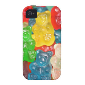 Big gummy bears pattern for big & small,candy,fun iPhone 4/4S case