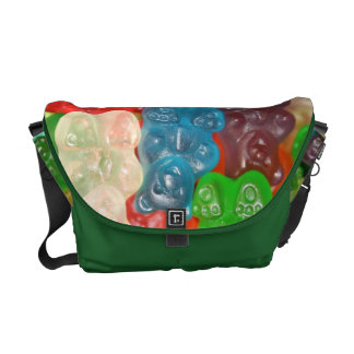 Big gummy bears pattern for big & small,candy,fun, courier bags