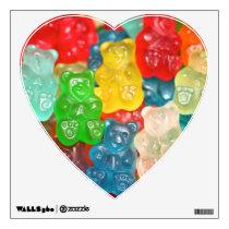 Big gummy bears pattern for big & small,candy,fun, wall sticker