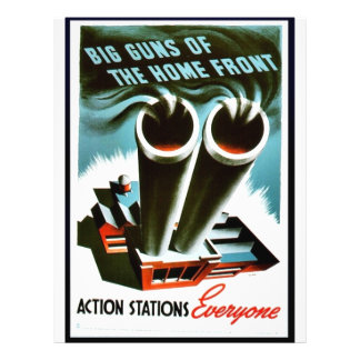 Big Guns Of The Home Front Custom Flyer