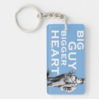 'BIg Guy Bigger Heart' Keychain