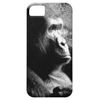 """Big Guy Deep in Thought"" Gorilla iPhone 5/5S case"
