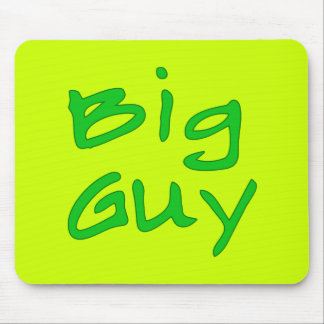 BIg Guy Fathers Day Products Mouse Pad