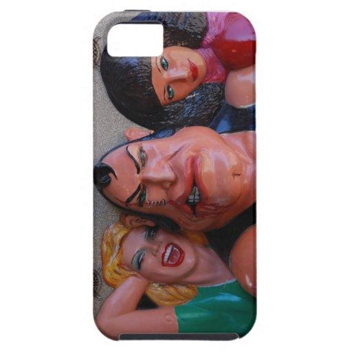 Big Guy & Girls iPhone 5 Case