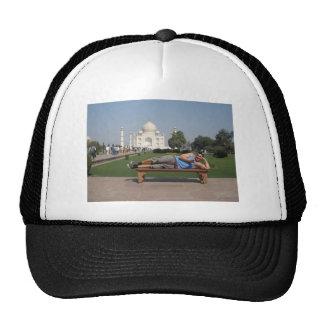 Big guy in India Trucker Hat