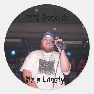 Big H 1812 - Round Sticker