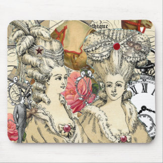 Big Haired Women Mouse Pad