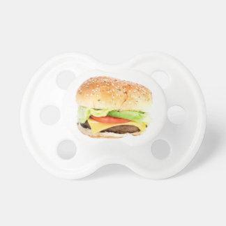 Big Hamburger Pacifiers