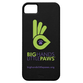 Big Hands Little Paws iPhone 5/5S Case