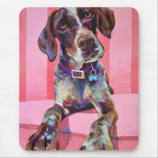 Big Hank the German Shorthaired Pointer Mouse Pad