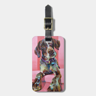 Big Hank the Short Haired Pointer Bag Tag