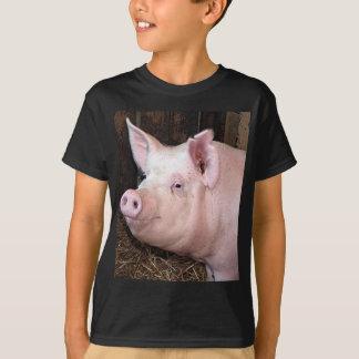 Big happy pink pig T-Shirt