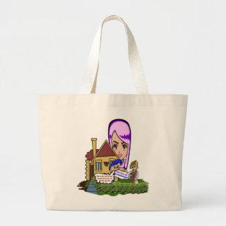 Big Head Canvas Bags