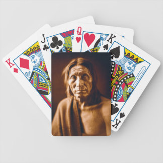 Big Head (Native American) Bicycle Playing Cards